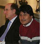 Morales con Jersey a rayas